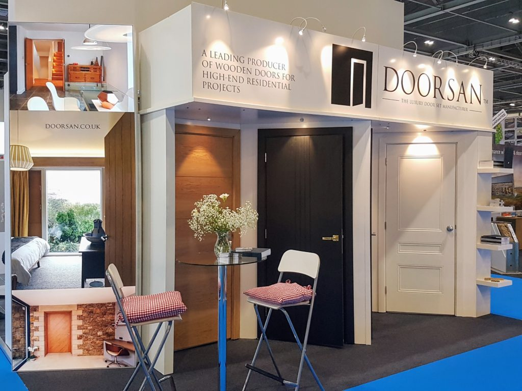 London Homebuilding and Renovating Show stand
