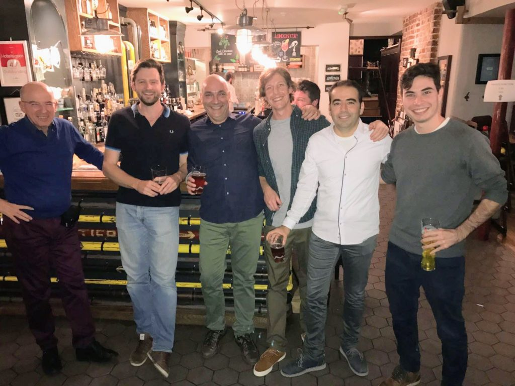 London Homebuilding and Renovating Show after drinks