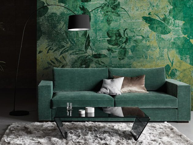 Interior Design Winter Trends Emerald Green