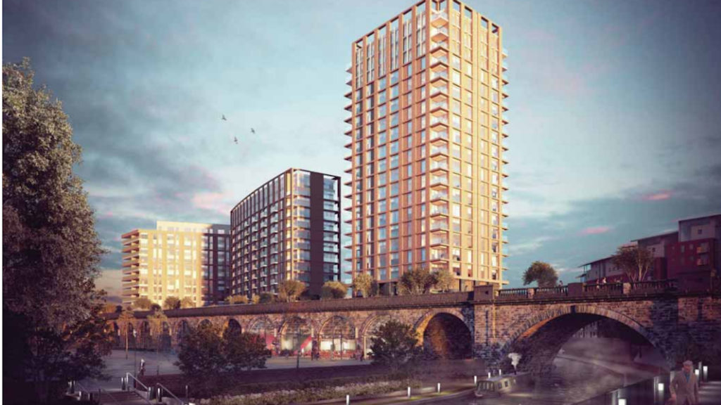 Leeds developments high walk