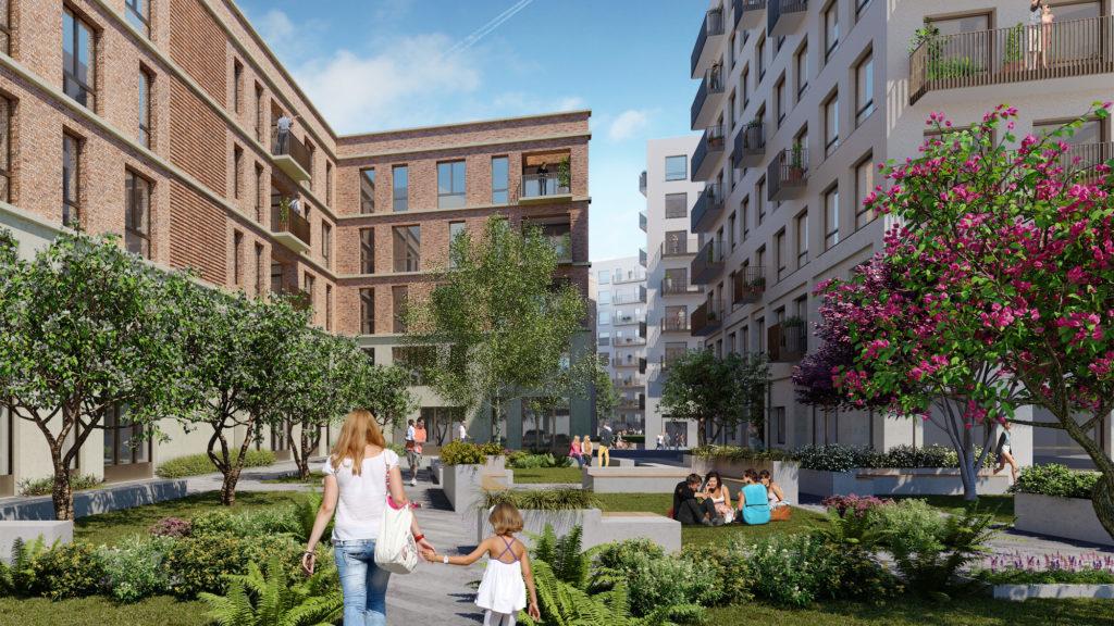 Leeds developments 5 acre park