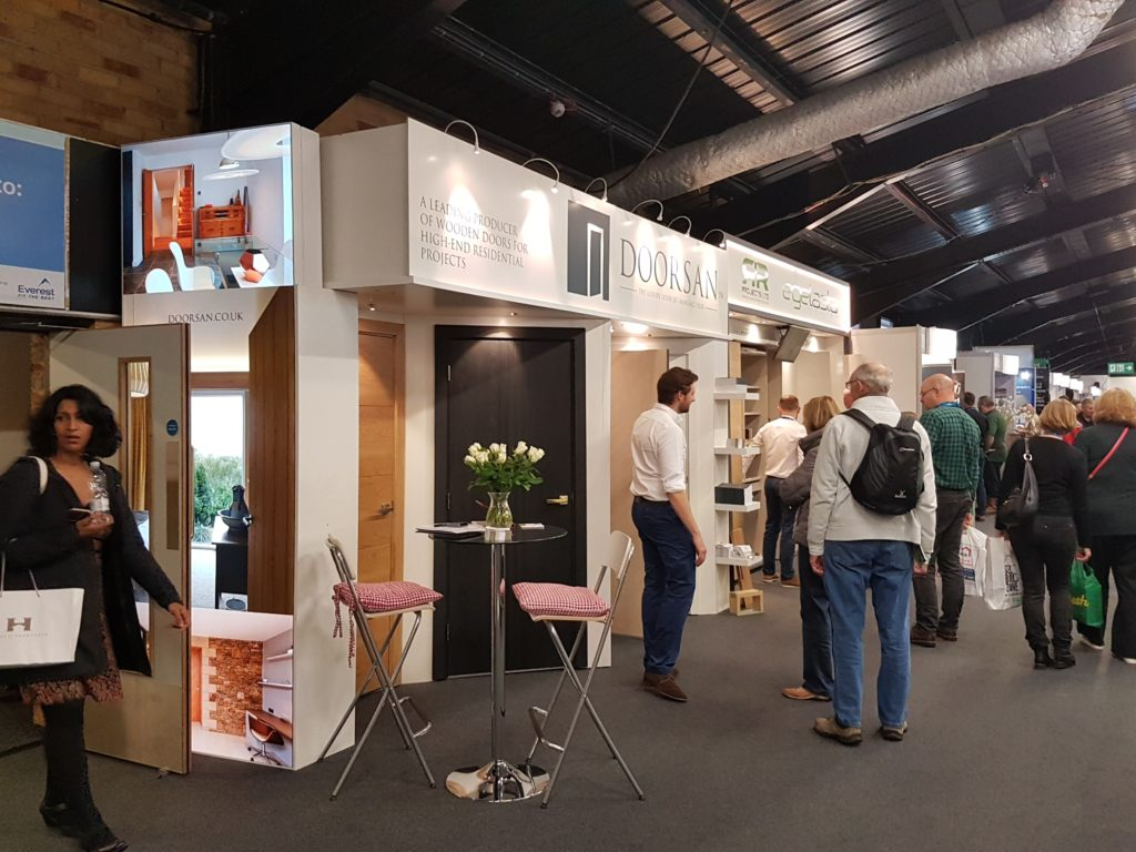 Harrogate Homebuilding and Renovating Show the stand