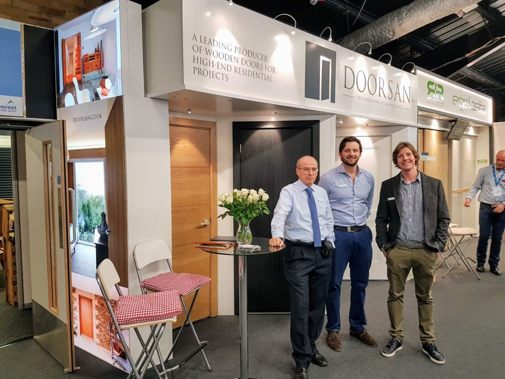 Harrogate Homebuilding and Renovating Show Team Doorsan