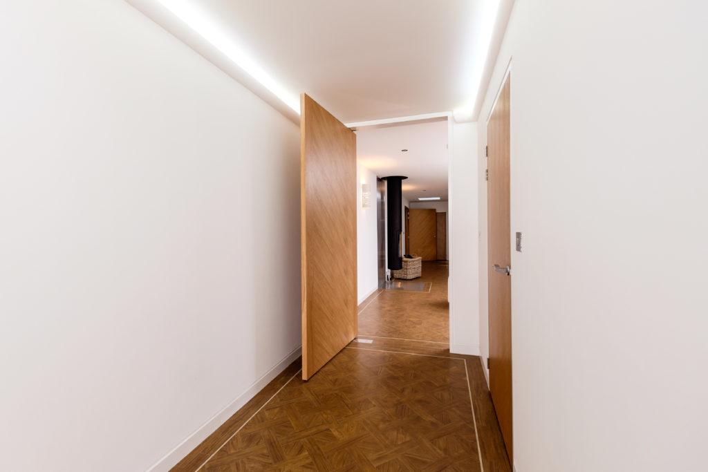 Ceiling height doors in interior design